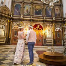 Венчание в православном соборе св. Николая Чудотворца (Котор)