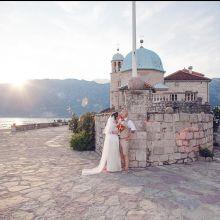 Венчание в Церкви Богородицы на Рифе (Пераст)